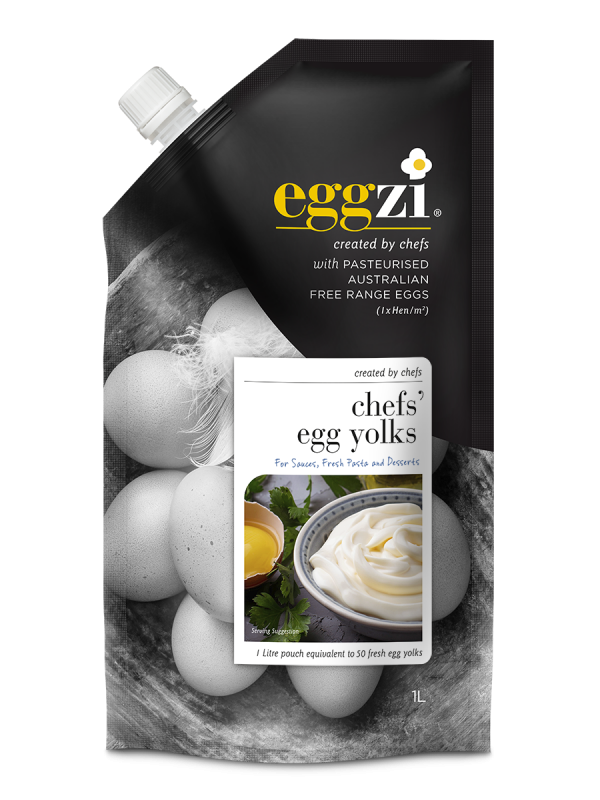 Pasteurised Chefs' Egg yolks by Eggzi