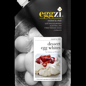 Dessert Egg Whites in 1ltr easy pour, easy-store pack by Eggzi
